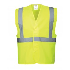 Portwest C472 High Visibility One Band & Brace Vest