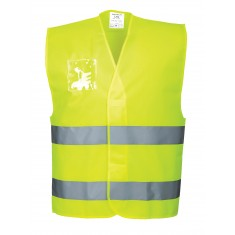 Portwest C475 Hi-Vis Vest with ID Holder