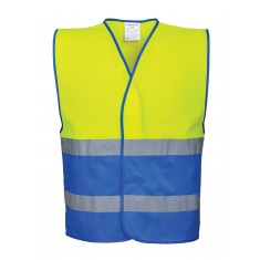 Portwest C484 High Visibility Two Tone Waistcoat