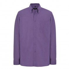 Disley C931B Button Down Collar Men's Long Sleeve Shirt