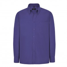 Disley C945B Classic Oxford Men's Long Sleeve Shirt