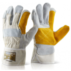 Beeswift Canadian Double Palm High Quality Rigger Glove CANDPPN (Pack of 10)