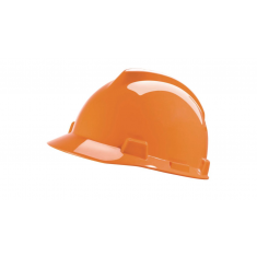 MSA V-Gard® MSA003 Safety Helmet with Staz-on Insert & Sewn PVC sweatband