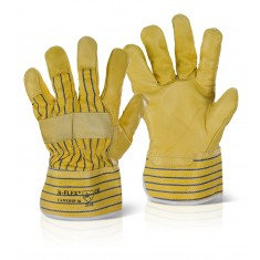 Beeswift CANYHSP Canadian Yellow Hide Rigger (Pack of 10)
