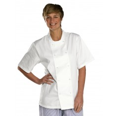 Beeswift CCCJSS Short Sleeve Chef's Jacket