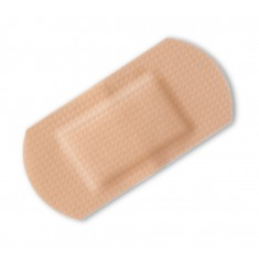 Beeswift Click CFAWP100 Assorted 100  Waterproof Pink Plasters