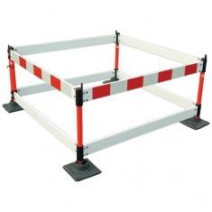 JSP KAC073-200-600 Champion Folding Barrier System 2 metre x 4 style