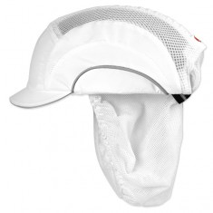 JSP ABT000-600-100 CleanCap™ Food Hygiene - White Stain Resistant with Hairnet (Pack of 20)