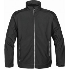 Stormtech CX-1 Men's Cyclone Softshell Jacket Black - Size Large