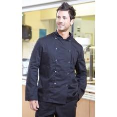 Denny's DD08C Dennys Economy Long Sleeve Chef's Jacket