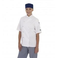 Denny's DD08S Dennys Short Sleeve Chef's Jacket