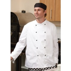 Denny's Lightweight Long Sleeve Chef's Jacket