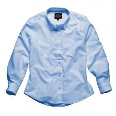 Dickies SH64300 Oxford Weave Long Sleeve Ladies Shirt - Size 12