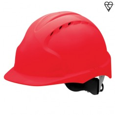 JSP AJF170-000 EVO3 Vented, Standard Peak, Revolution Wheel Ratchet Safety Helmet (Pack of 10)