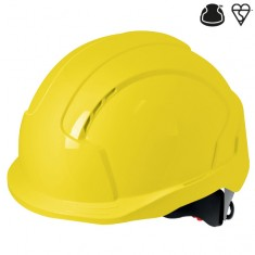 JSP AJC170-000 EVOLite Non Vented Wheel Ratchet Safety Helmet  (Pack of 10)