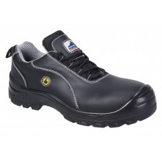 Portwest FC02 Composite ESD Leather Unisex S1 Safety Shoe