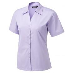 Vortex Designs Freya Short Sleeve Blouse - Size 18