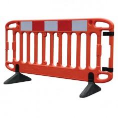 JSP KBR079-000-800 Frontier® 2M Traffic Barrier - Orange (Pack of 2)