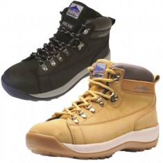 Portwest Steelite FW31 Mid cut Nubuck Safety Boot