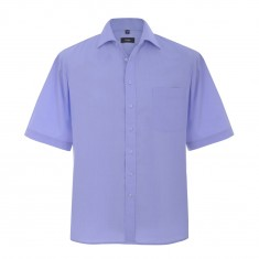 Disley H01CC End on End Cutaway collar Men's Short Sleeve Shirt