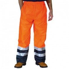 Yoko HVS463 High Visibilitty 2-Tone Waterproof Over Trousers