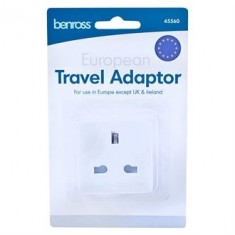 Home & Living HL108 EU Travel Plug Adaptor
