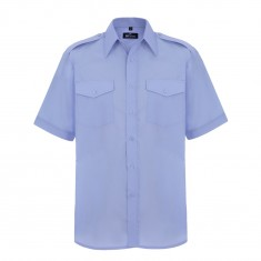Disley HP139 Williams Mens Short Sleeve Pilot Shirt