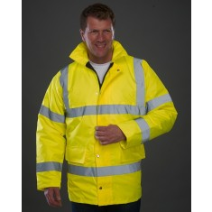 Yoko HVP300 Motorway High Visibility Jacket Size 2XL