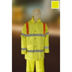 Yoko HVP301AM High Visibility Waterproof Motorway Jacket