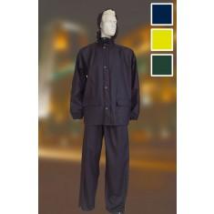 Yoko HVS457 High Visibility Breathable Waterproof Rain Suit (Jacket +Trousers)