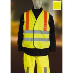 Yoko HVW105AM High Visibility 2 Band & Brace Waistcoat