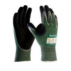 ATG MaxiCut Oil 34-304--B Palm Coated Knitwrist Cut 3 Glove (Pack of 12)
