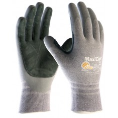 ATG MaxiCut Oil 34-470LP--B Palm Coated Leather Pad Cut 5 Glove (Pack of 12)