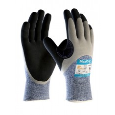 ATG MaxiCut Oil 34-505--B 3/4 Coated Knitwrist Cut 5 Glove (Pack of 12)