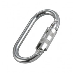 JSP FAR0903 Steel Twist Lock Karabiner