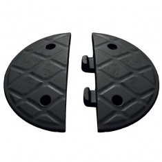 "JSP HAM000-831-100 Jumbo 4mph 7.5cm/3"" x 18cm/7 1/8"" Black Endcaps"