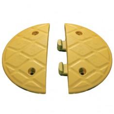"JSP HAM000-820-200 Jumbo 10mph 5cm/2"" x 18.5cm/7"" Black Endcaps"