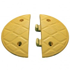 "JSP HAM000-830-200 Jumbo 4mph 7.5cm/3"" x 18cm/7 1/8"" Yellow Endcaps"