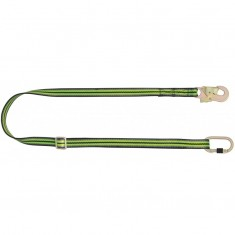 Kratos Safety HSFA4090120 2 Metre Adjustable Webbing Lanyard