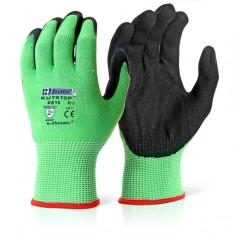 Beeswift Kutstop KS15 Micro Foam Nitrile Green Cut Resistance 5 (Pack of 10)
