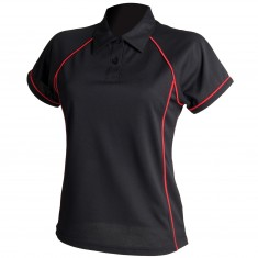Finden & Hales LV371 Women's Piped Performance Polo