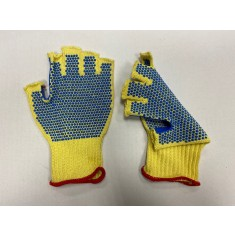 Marigold FB20PD Fire Blade Fingerless Polka Dot Gloves Size Medium