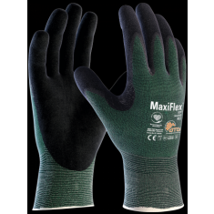 ATG MaxiFlex® Cut™ 34-8743 Palm Coated Knitwrist (Pack of 12)