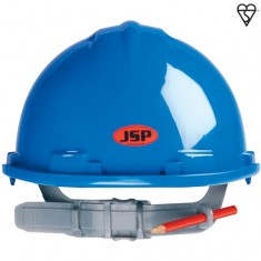 JSP AHM120-000 MK7 Non Vented, Easyjust Slip Ratchet Safety Helmet (Pack of 10)