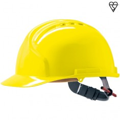 JSP AHN120-000 MK7 Vented, Easyjust Slip Ratchet Safety Helmet (Pack of 10)