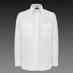 Disley P136 Williams Mens Pilot Long Sleeve Shirt