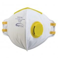 Portwest P153 FFP1 Valved Dolomite Fold Flat Disposable Mask (Pack of 20)