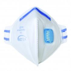 Portwest P251 FFP2 Valved Dust Mist Fold Flat Respirator (Pack of 20)