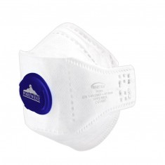 Portwest P291 EAGLE FFP2 Valved Dolomite Fold Respirator (Pack of 10)