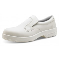 Beeswift Click P311 White Slip-On S1 Safety Shoes